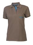 XLC Poloshirt Damen JE-C15 anthrazit Gr. L