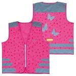 Sicherheitsweste Wowow Nutty Jacket für Kinder pink mit Refl.-Streifen Gr.M