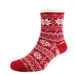 Socken Heat²  Deluxe Cabin women rot/weiß  Gr.35-42