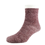 Socken Heat²  Deluxe Cabin women wine melange  Gr.35-42