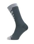 Socken SealSkinz Warm Weather Mid Length Gr.S (36-38) grau wasserdicht