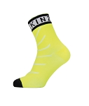 Socken SealSkinz Warm Weather Ankle Gr.S (36-38) Hydrostop neon gelb/schwarz