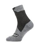 Socken SealSkinz All Weather Ankle Gr.XL (47-49)  schwarz/grau