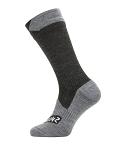 Socken SealSkinz All Weather Mid Length Gr.M (39-42)  schwarz/grau