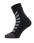 Socken SealSkinz All Weather Ankle Gr.S (36-38)  Hydrostop schwarz/grau