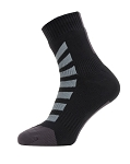 Socken SealSkinz All Weather Ankle Gr.XL (47-49)  Hydrostop schwarz/grau