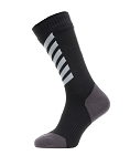 Socken SealSkinz All Weather Mid Gr.M (39-42)  Hydrostop schwarz/grau