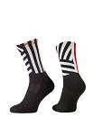 XLC All MTN Socke CS-L02 schwarz-weiß Gr. 42-45