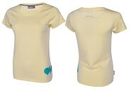 T-Shirt Bergfieber WÄLDELE creme Gr. XL