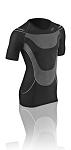 T-Shirt F-Herren Megalight 140 schwarz Gr.L (50-52)