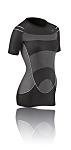 T-Shirt F- Damen Megalight 140 schwarz Gr.L (42-44)