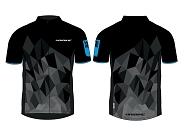 Multifunktionsshirtt Haibike Kurzarm Man Gr.XS schwarz/blau made by Maloja