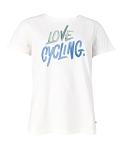 XLC Casual Damen T-Shirt Gr S weiß/grün/blau