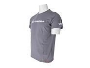 T-Shirt Winora Shop unisex grau, Größe L