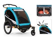"""Fahrrad-Kinder-Anhänger Burley D`Lite X """"Aqua"""""""