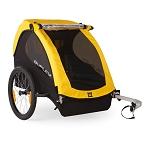 Fahrrad-Kinder-Anhänger Burley Bee Yellow