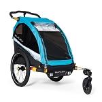 "Fahrrad-Kinder-Anhänger Burley D`Lite X ""Aqua"", Single"