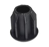 Kappe für Buggyradaufnahme für Croozer, Kunststoff