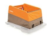 Body für Fahrradanhänger Croozer Cargo f. Croozer sunset orange/grey ab 2014