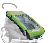 Regenverdeck f.Kinderanh.Croozer 2010 für Croozer Kid for 2 ab 2010