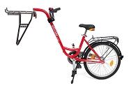 Trailer add + bike by Roland rot, ohne Schaltung mit Freilauf