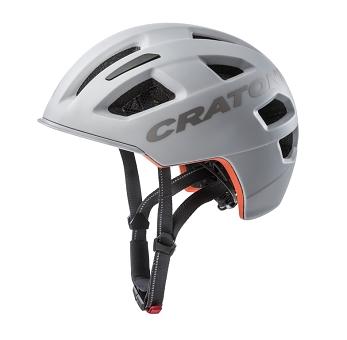 Fahrradhelm Cratoni C-Pure (City) Gr. S/M (54-58cm) grau matt