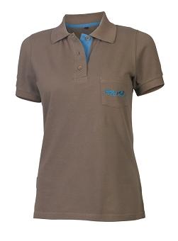XLC Poloshirt Damen JE-C15 anthrazit Gr. XL