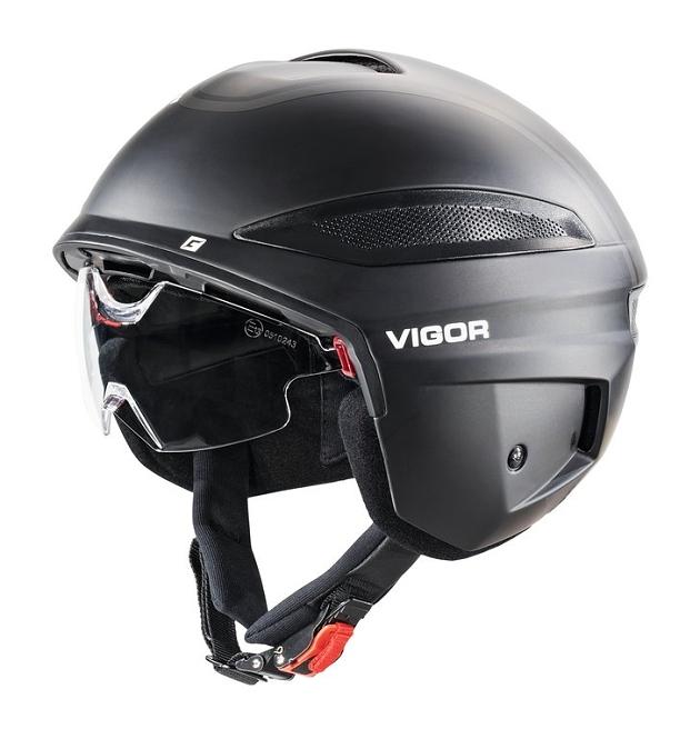 Fahrradhelm Cratoni Vigor (S-Pedelec) Gr. S (54-55cm) schwarz matt