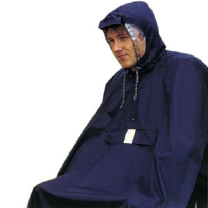 Regenponcho Hock Rain Care marine Gr.L