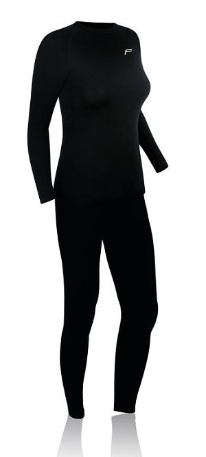 Underwear Set F- Damen ML 140 schwarz. Gr.L (42-44)