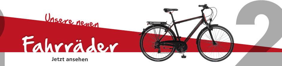 Unsere neuen Fahrräder